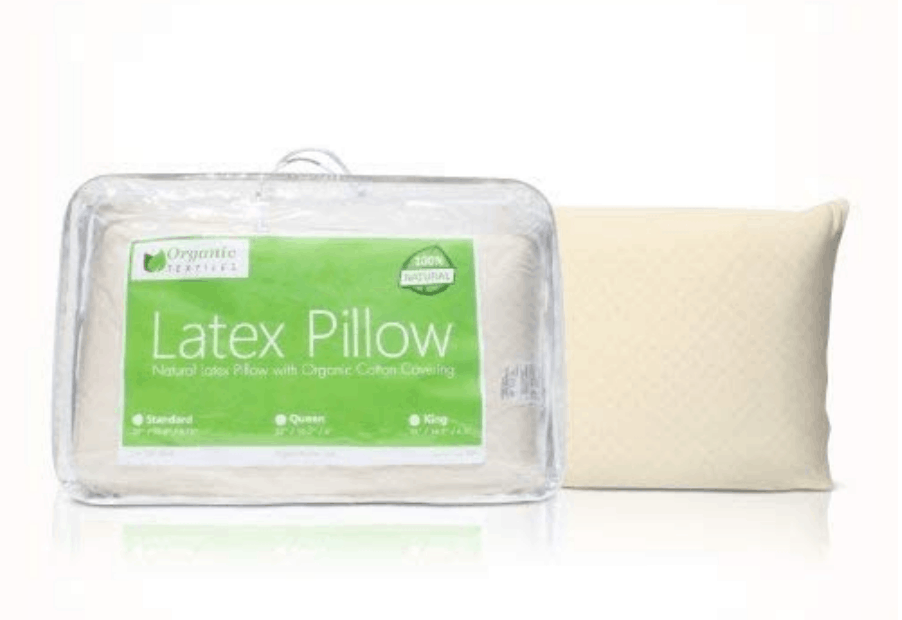 Natural Latex Pillow by Organic Textiles