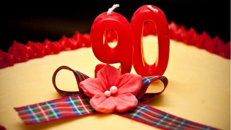 90th birthday gifts