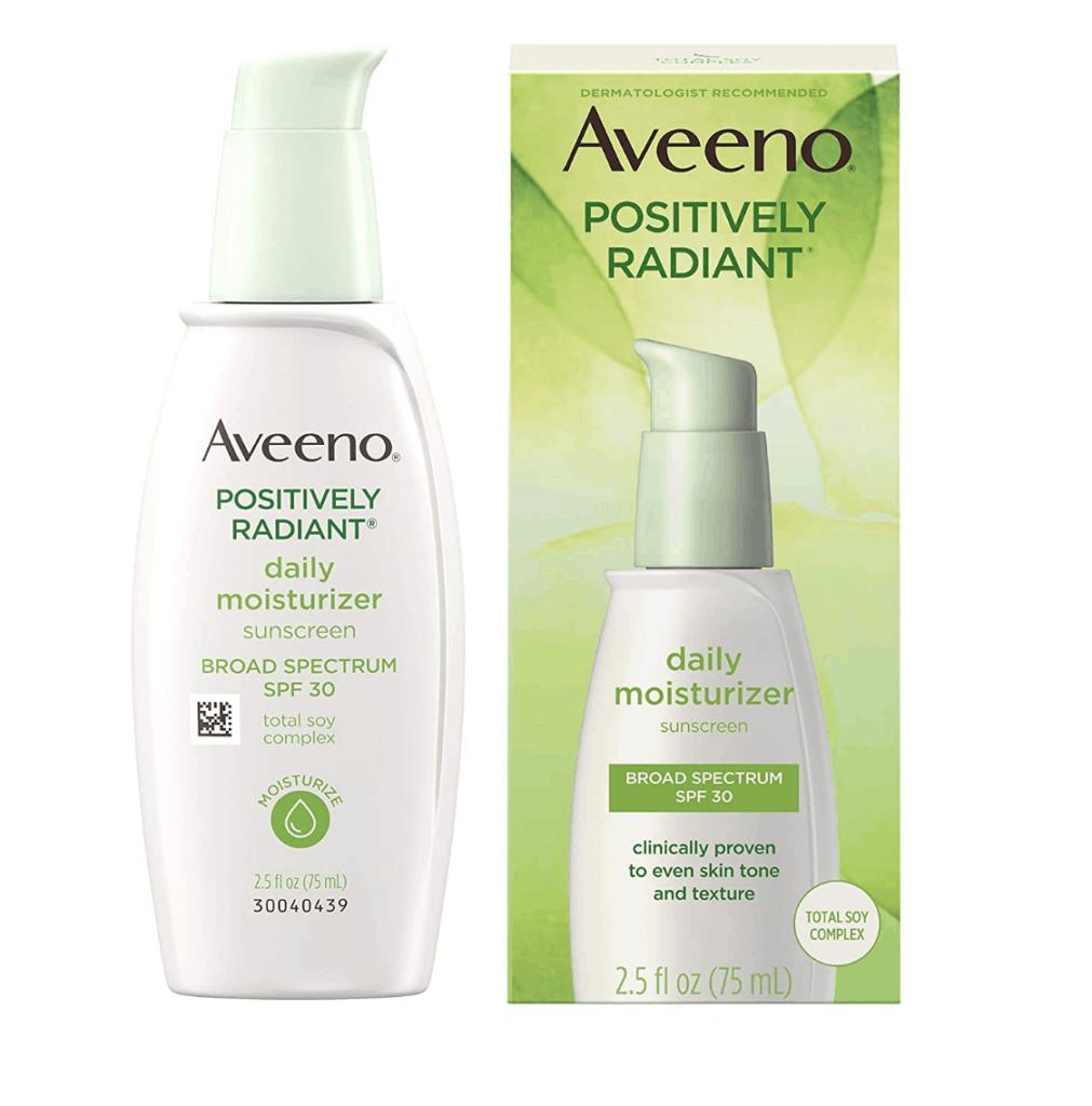 Aveeno Positively Radiant Moisturizer