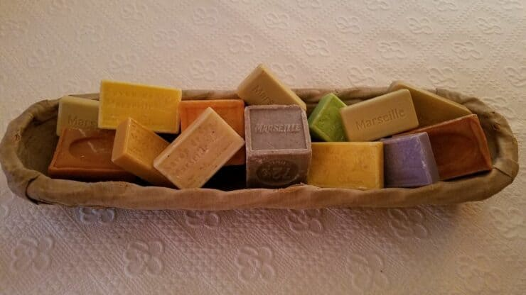 Marseilles soaps selection