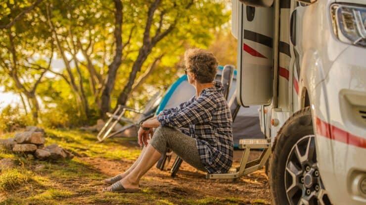 exploring your backyard local travel senior woman