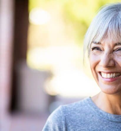 senior woman fall in love with yourself self-love happiness