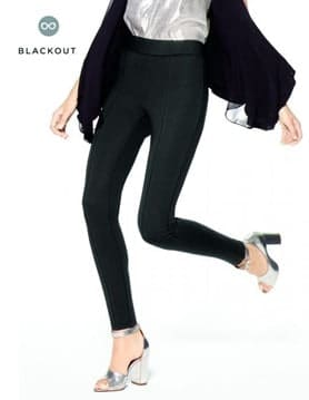 Ponte high-waisted leggings from Hue