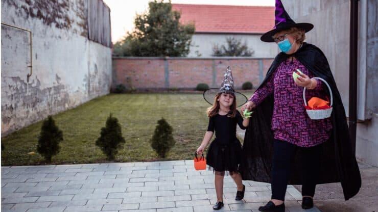 celebrating Halloween