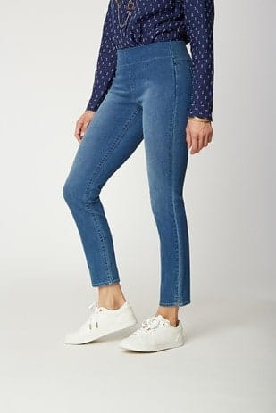 Skinny Ankle Pull-On Jeans from NYDJ