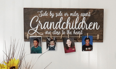 Grandmother's Brag Board