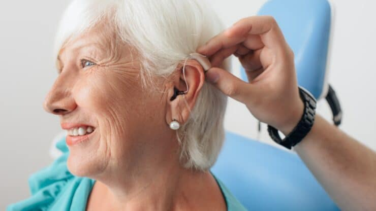 common hearing issues older adults