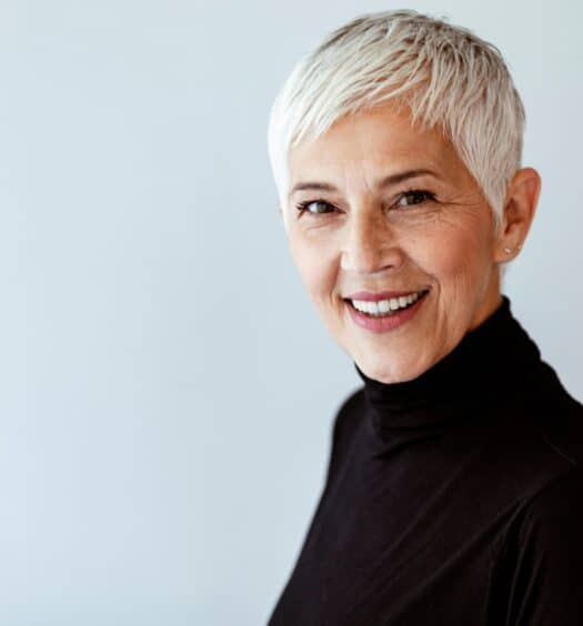 pixie hairstyles for women over 60