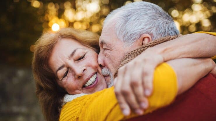 senior intimacy and affection