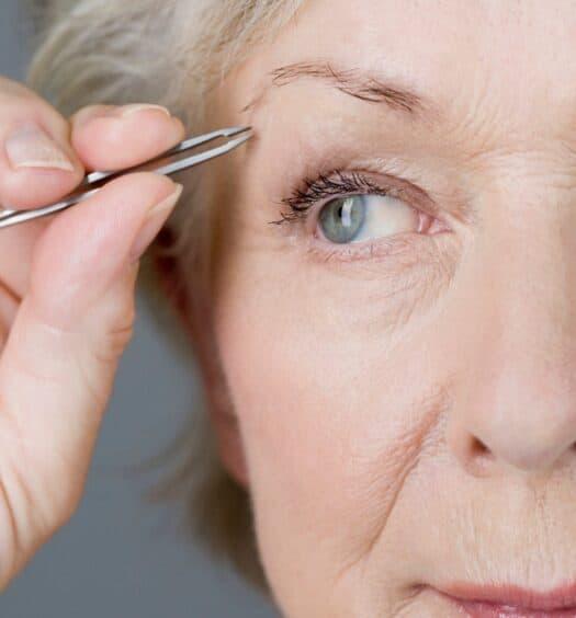 eyebrow tips for older women