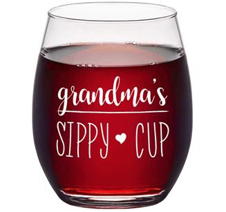 Wine Glass for Grandma