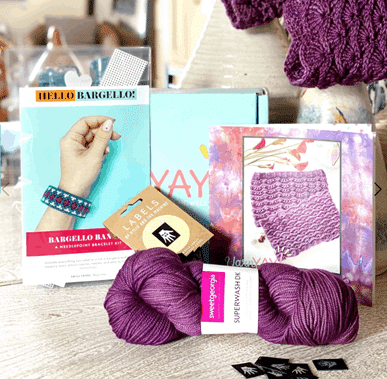 Monthly Subscription Yarn Box