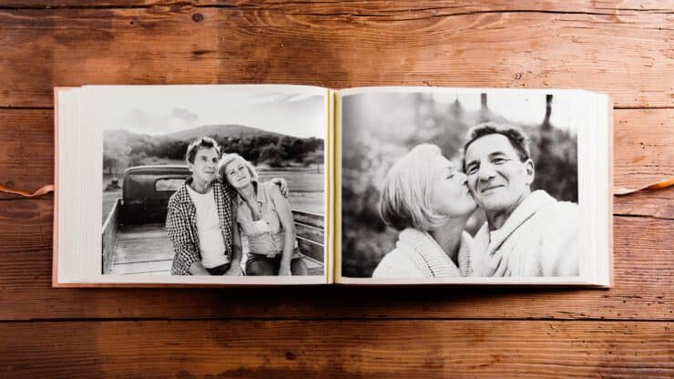 photo book to preserve house memories