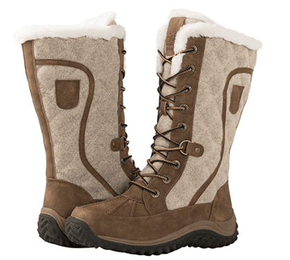 GLOBALWIN Mid-Calf Winter Snow Boots