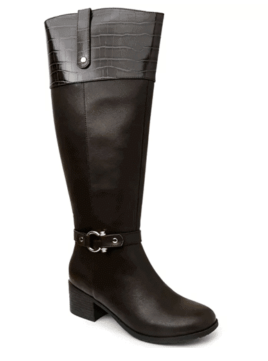 Karen Scott Vickyy Extended Wide-Calf Riding Boots