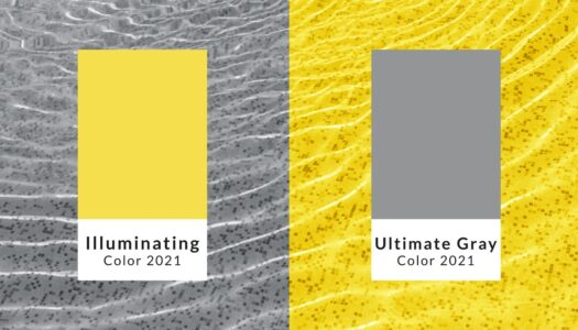"Pantone's Color(s) of the Year: ""Ultimate Gray"" and ""Illuminating"""