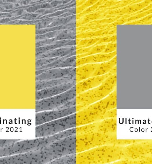 ultimate gray illuminating yellow pantone