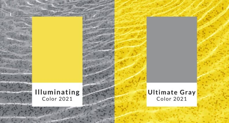 ultimate gray illuminating yellow pantone