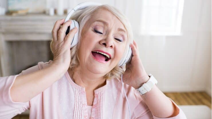 hearing and singing