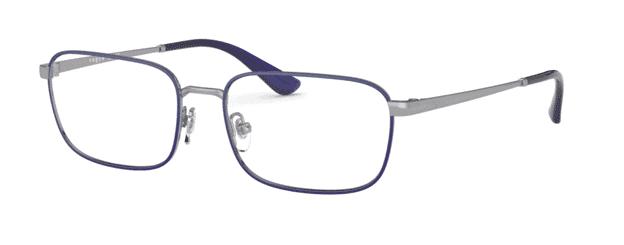 VOGUE Thin Rimmed Violet Glasses