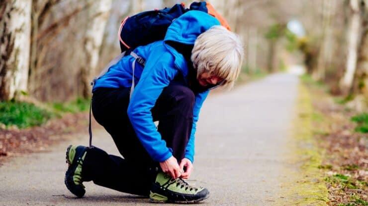 senior walking shoes