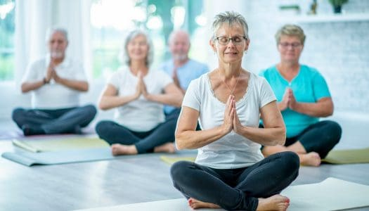 3 Good Reasons to Take Up Yoga After 60