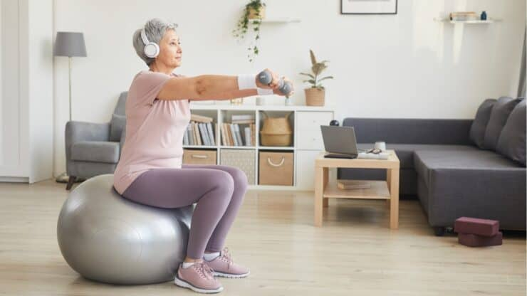 exercising gluteal muscles