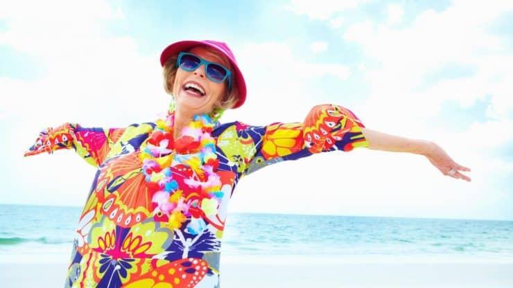 newly retired boomer woman