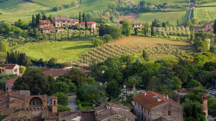 Tuscany sights