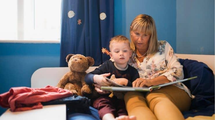 reading aloud to grandchildren