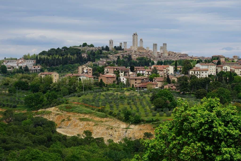 The towers of San Gimignano