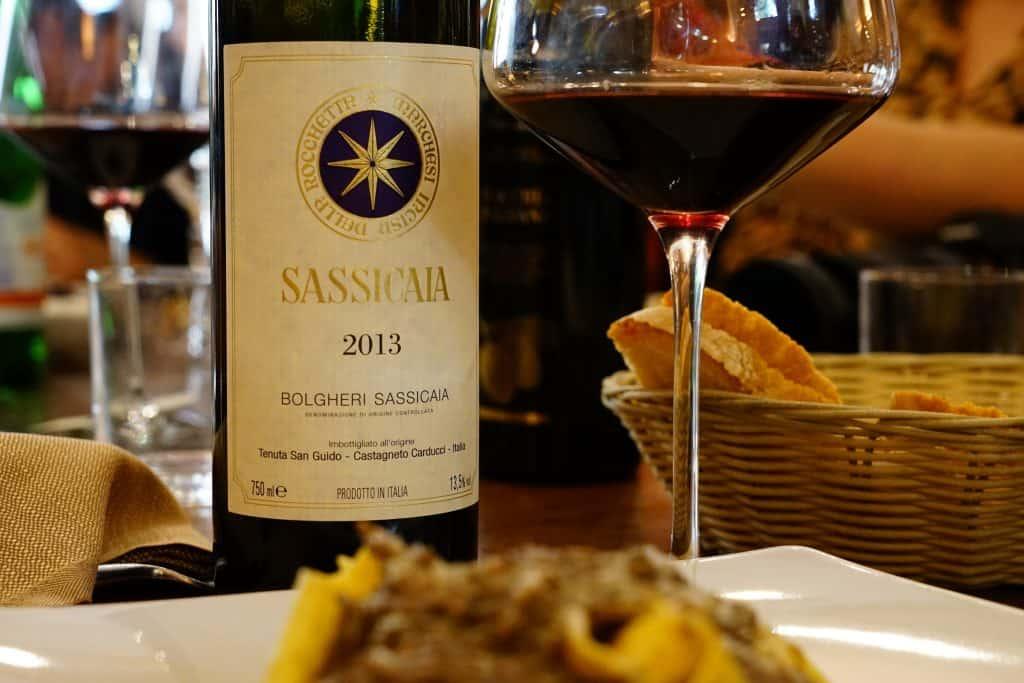 Wine-tasting in Bolgheri