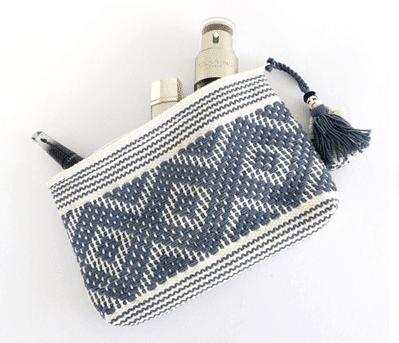 bohemian makeup pouch