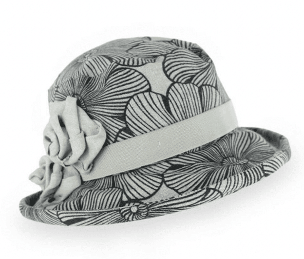Linen Small Brim Hat Italia Ilaria