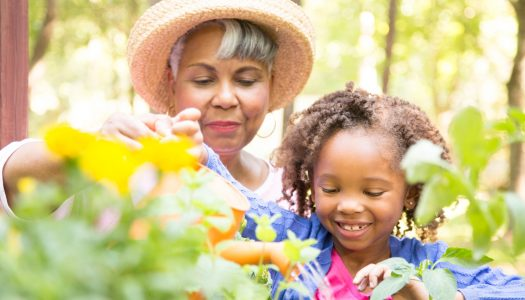Grow Your Relationship with Your Grandchildren by Reading Books About Gardens