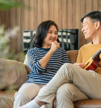 singing boosts romantic life