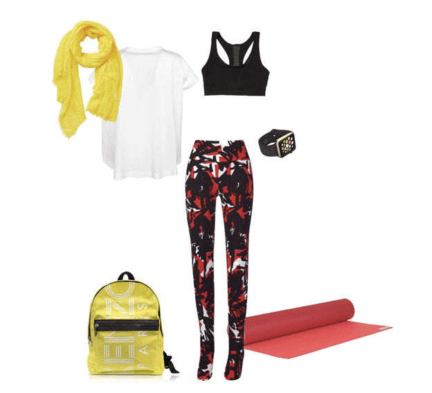 spring outfit idea sporty
