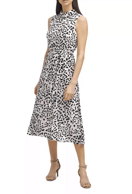 Bloomingdale's leopard print dress