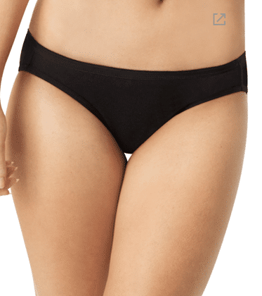 Hanes Cool Comfort® Women's Cotton Bikini Panties 6-Pack