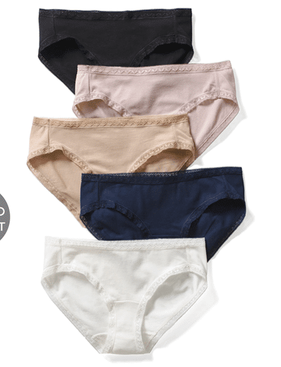 COTTON MODAL Hipster 5 Pack