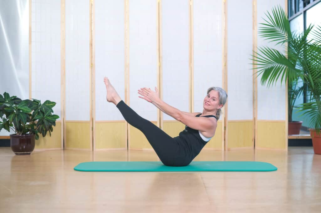 breathing in pilates