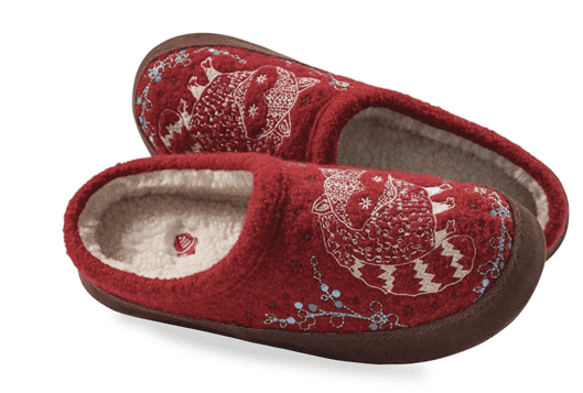 Acorn Forest Mule Slippers