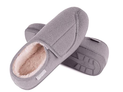 LongBay Memory Adjustable Foam Slippers