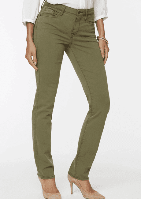 color jeans at NYDJ
